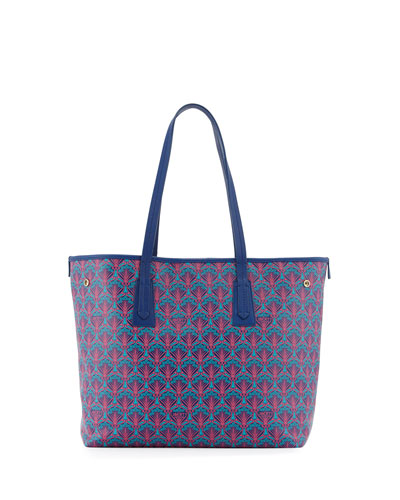 Marlborough Little Iphis Printed Tote Bag, Navy
