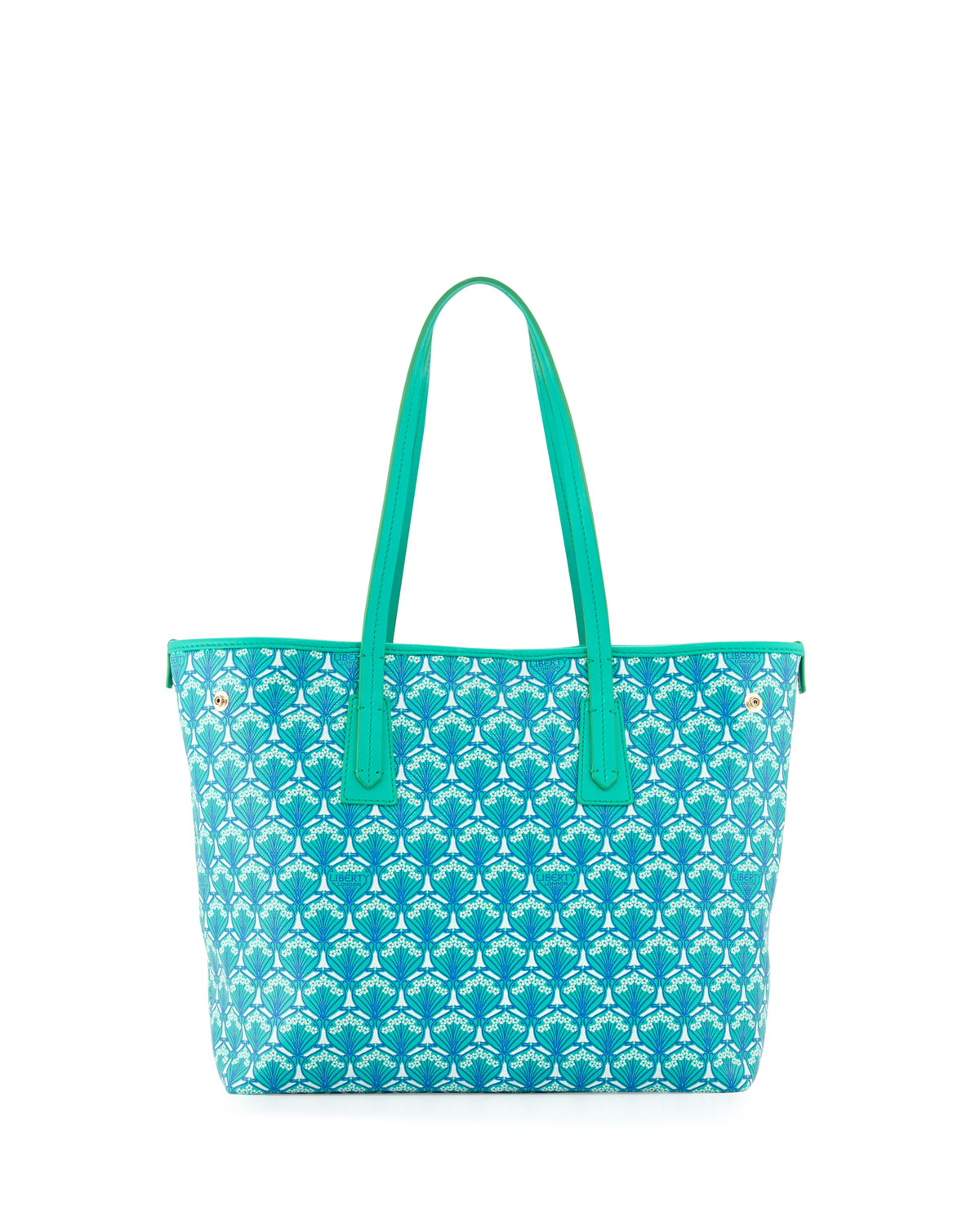 Marlborough Iphis Printed Little Tote Bag, Green