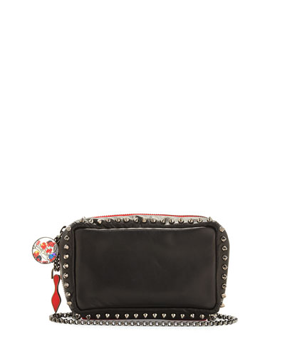 Piloutin Studded Wristlet Clutch Bag, Black