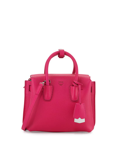 Milla Mini Tote Bag, Beetroot Pink