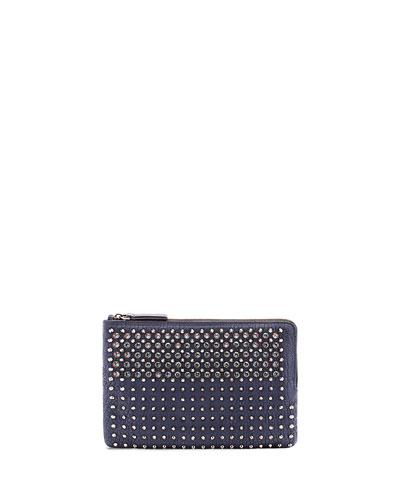 Stark Special Medium Pouch Bag, Dress Blue