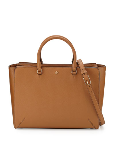 Robinson Large Zip-Top Tote Bag, Tiger's Eye