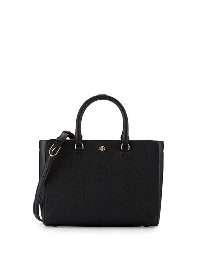 Robinson Small Zip Tote Bag, Black