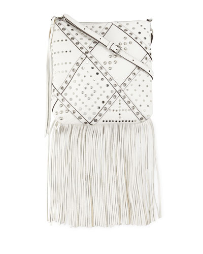 Jemma Studded Fringe Crossbody Bag