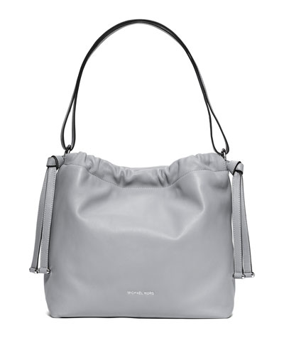 Angelina Large Convertible Shoulder Bag, Dove