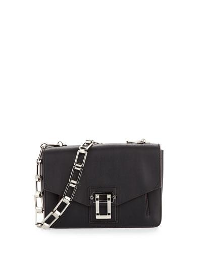 Hava Chain Shoulder Bag, Black