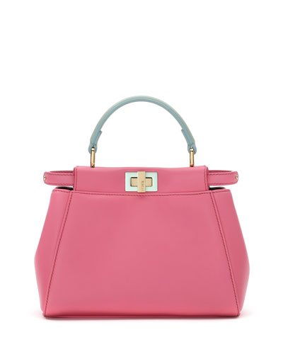 Peekaboo Micro Satchel Bag