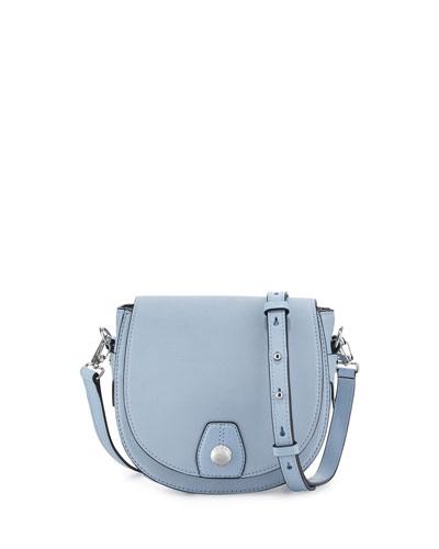Mini Flight Saddle Bag, Light Blue