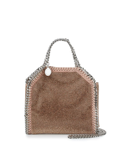 Falabella Tiny Tote, Powder