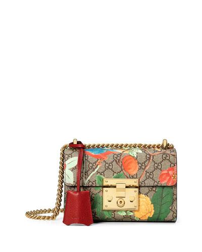 Padlock Gucci Tian Small Shoulder Bag, Multi