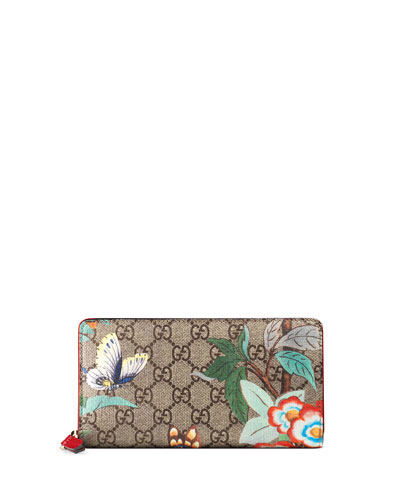 Tian GG Supreme Zip Wallet, Multi