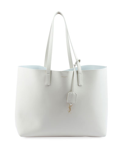 Large Shopping Tote Bag, White