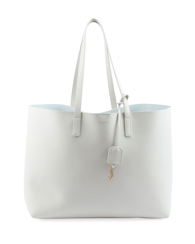 Large Shopping Tote Bag, White