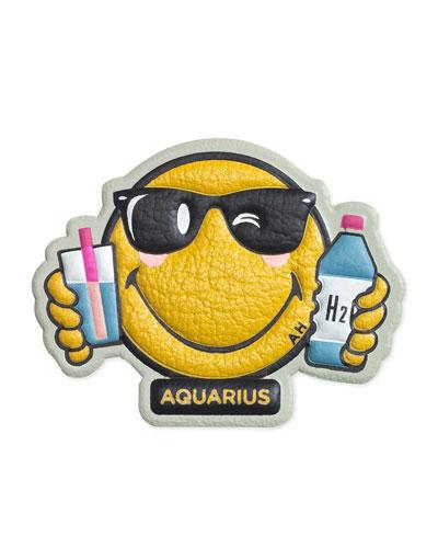 Zodiac Aquarius Sticker for Handbag
