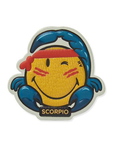 Zodiac Scorpio Sticker for Handbag