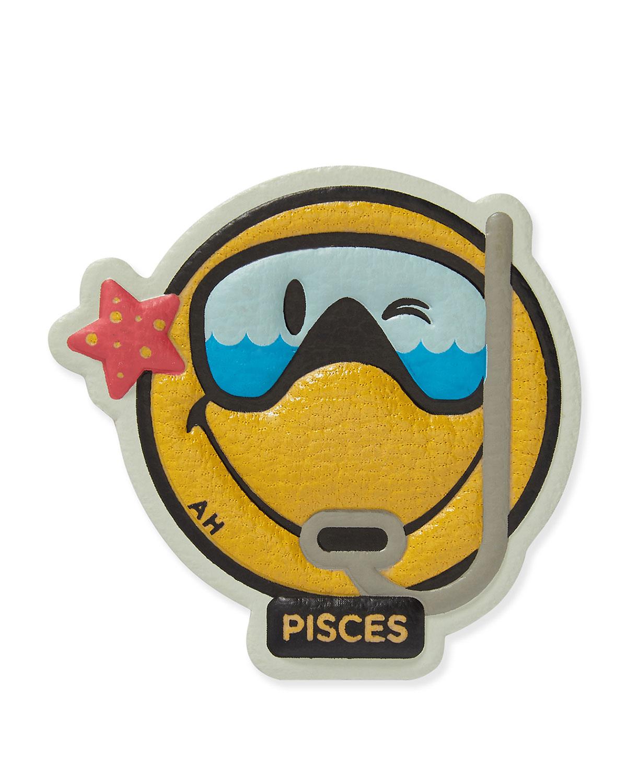 Zodiac Pisces Sticker for Handbag