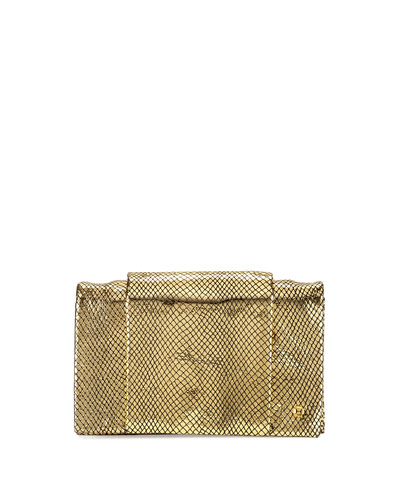 Wallet-On-Chain Crossbody Bag, Gold