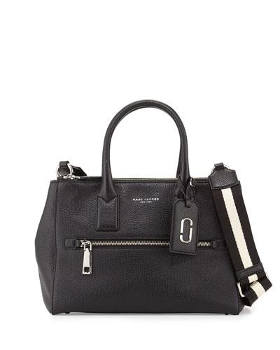 Gotham East-West Tote Bag, Black
