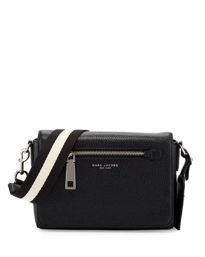 Gotham Small Shoulder Bag, Black