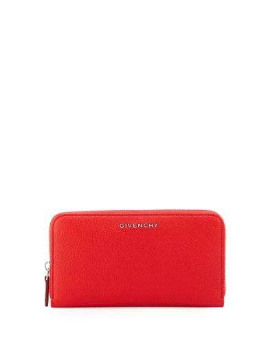 Pandora Zip-Around Wallet, Red