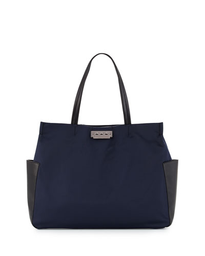 Eartha Everyday Large Shopper Tote Bag, Midnight