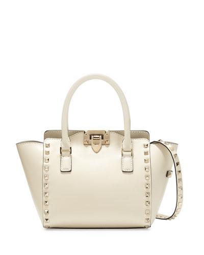 Micro Mini Shopper Bag, Ivory