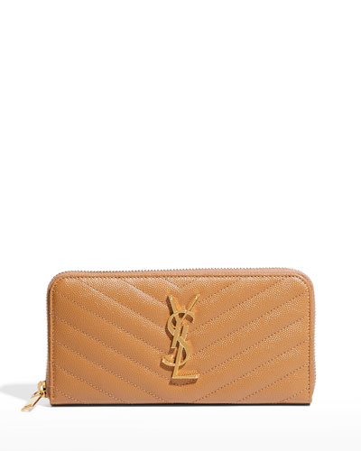 Monogram Matelassé Zip-Around Wallet