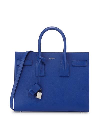 Sac de Jour Small Satchel Bag, Royal Blue