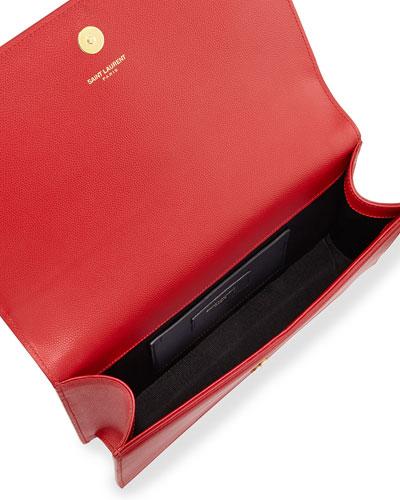 yves saint laurent rive gauche shoes - Leather Monogram Handbag | Neiman Marcus | Leather Monogram Purse
