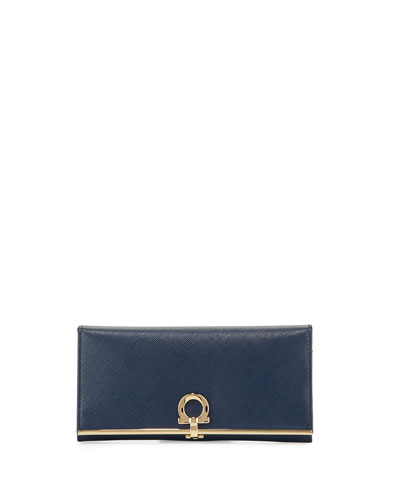 Icona Continental Wallet, Oxford Blue