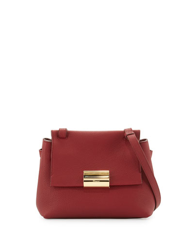 Ginger Small Gancio Crossbody Bag, Opera