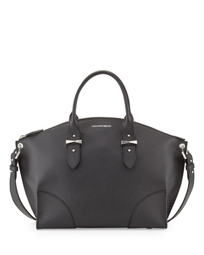 Legend Calfskin Tote Bag, Black