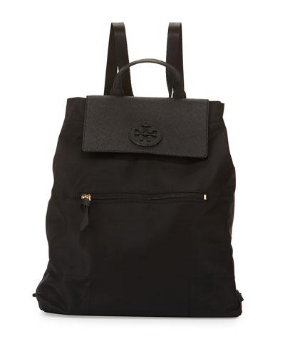 Ella Packable Backpack, Black
