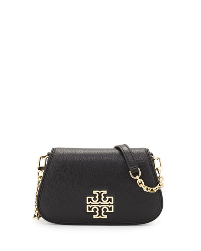 Britten Mini Clutch/Crossbody Bag, Black