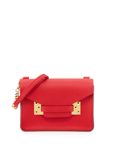 Milner Nano Crossbody Bag, Crimson