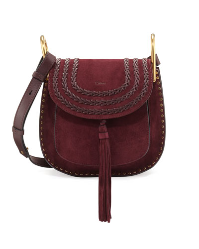Hudson Small Suede Shoulder Bag