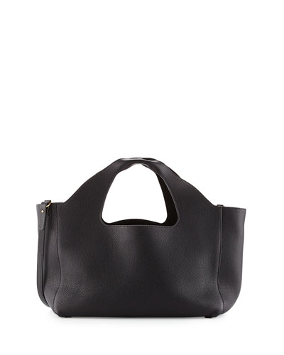 Two for One 12th Tote Bag, Black