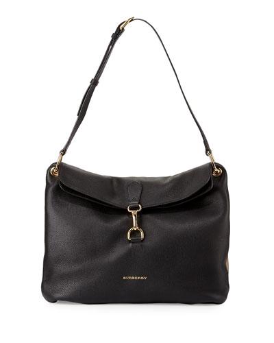 Cornwall Medium Derby Shoulder Bag, Black