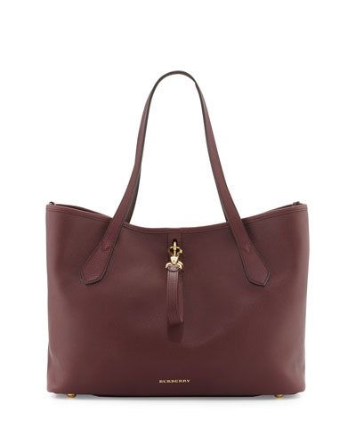 Honeybrook Medium Derby Tote Bag, Mahogany Red