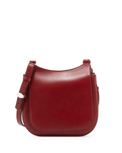 Leather Hunting 9 Shoulder Bag, Brick