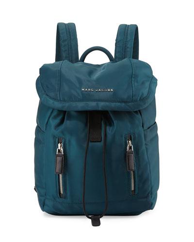 Mallorca Nylon Backpack, Teal