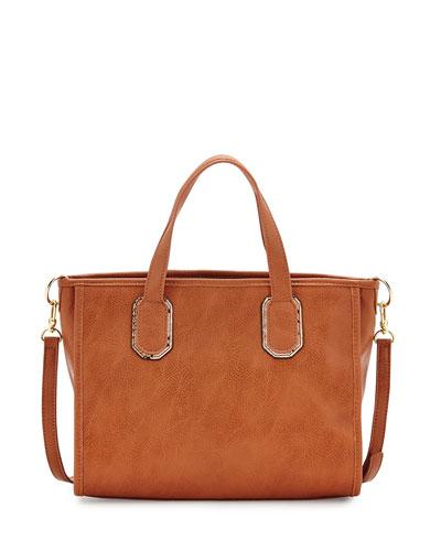 Melody Satchel Bag, Camel