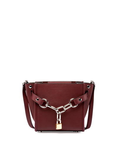 Attica Mini Chain Satchel Bag, Beet
