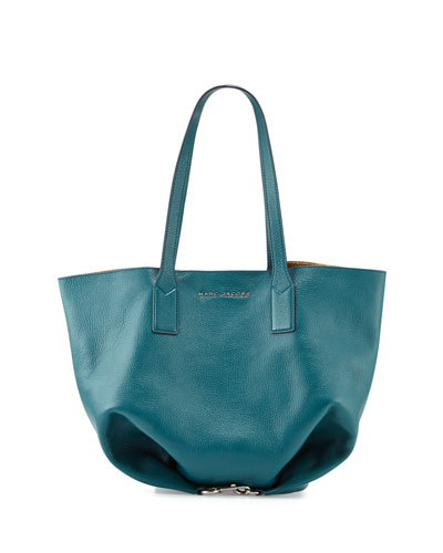 Wingman Shopping Tote Bag, Teal/Multi