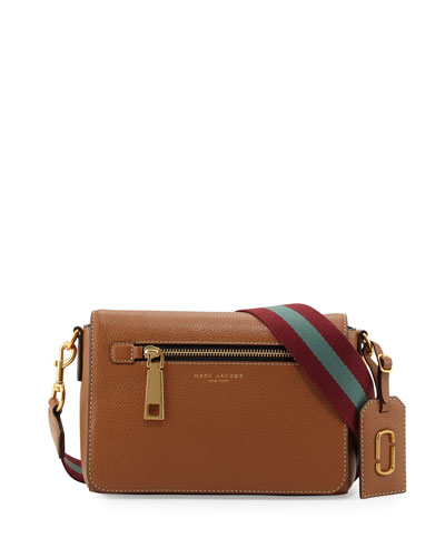 Gotham Small Shoulder Bag, Maple Tan