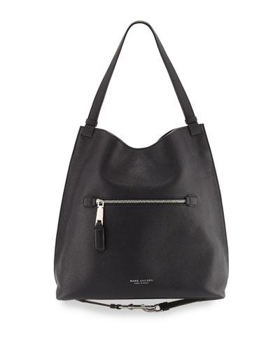 The Waverly Large Hobo Bag, Black