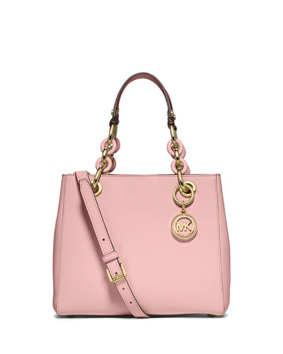 Cynthia Small North-South Satchel Bag, Blossom
