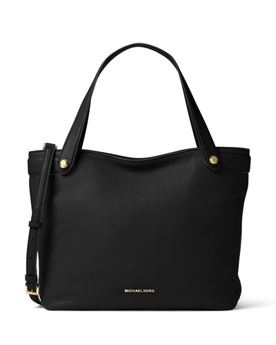 Hyland Medium Convertible Tote Bag, Black