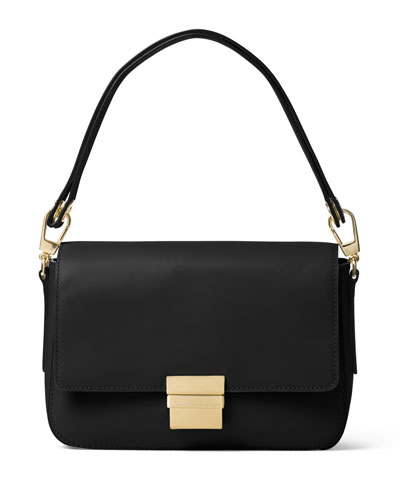 Madelyn Large Convertible Shoulder Bag, Black