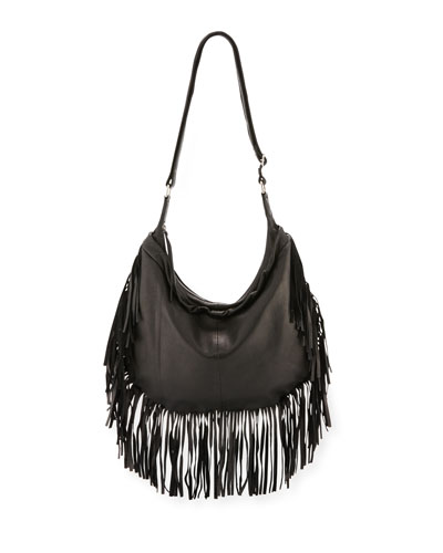 Wilma Two-Piece Hobo Bag Set, Black